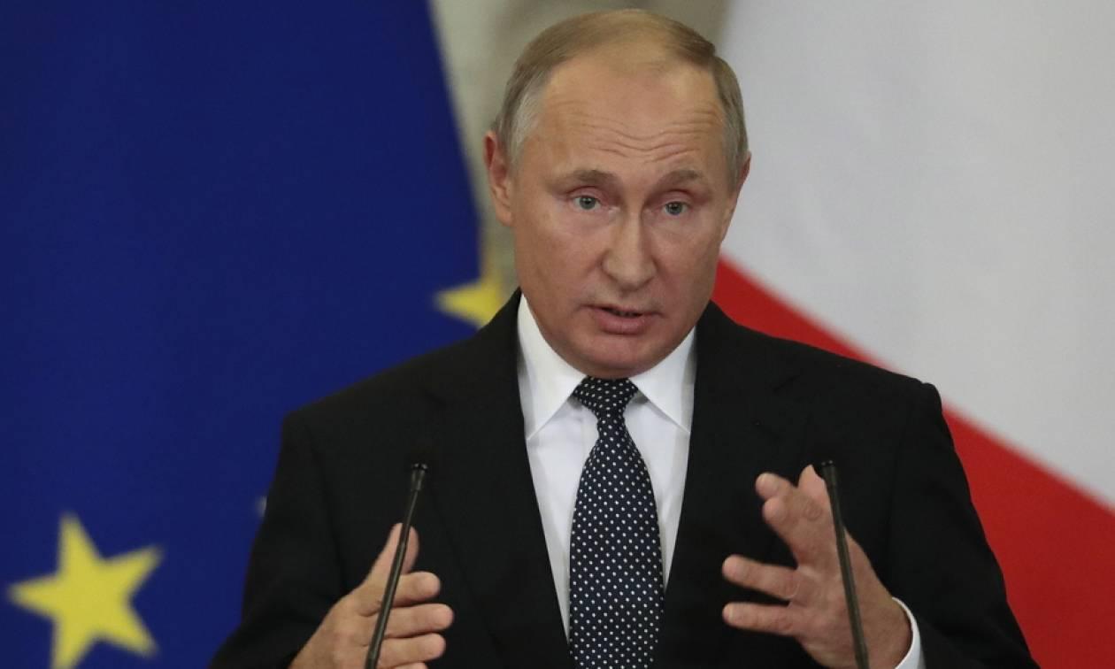 Τηλεφωνική επικοινωνία Πούτιν - Μακρόν πριν τη Σύνοδο Κορυφής με Ερντογάν και Μέρκελ