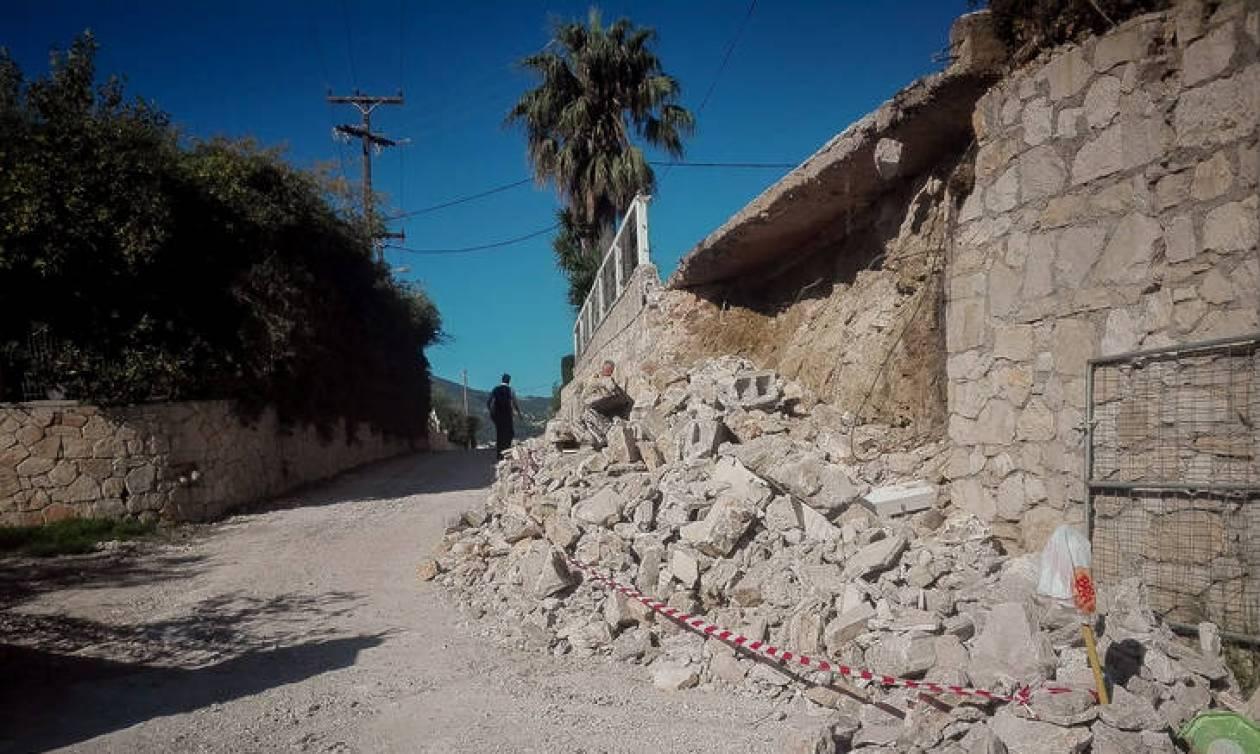 Σεισμός στη Ζάκυνθο: Σε κατάσταση έκτακτης ανάγκης το νησί