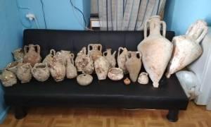 Συνελήφθη στην Κάλυμνο 72χρονος για κατοχή αρχαιοτήτων