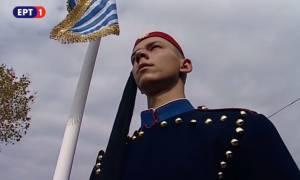 28η Οκτωβρίου: Ο τσολιάς της στρατιωτικής παρέλασης που «γονάτισε» το Διαδίκτυο (pics)