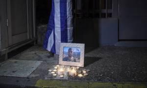 Συγκέντρωση στην πρεσβεία της Αλβανίας για το θάνατο του ομογενή στο Αργυρόκαστρο (vid+pics)
