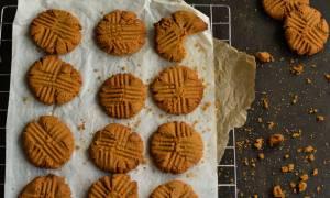 Η συνταγή της ημέρας: Μπισκότα με φυστικοβούτυρο