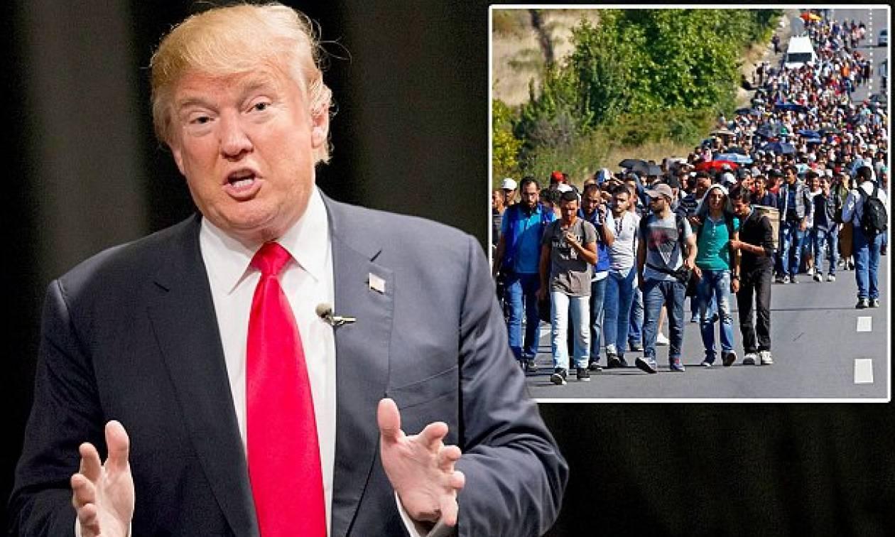 Τραμπ για καραβάνι μεταναστών: «Εισβολή στη χώρα μας, ο στρατός σάς περιμένει»