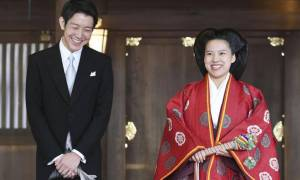 Ιαπωνία: Η πριγκίπισσα Αγιάκο παντρεύτηκε επιτέλους τον αγαπημένο της και απαρνήθηκε τον τίτλο της