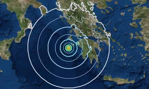 На Закинфосе произошло новое мощное землетрясение