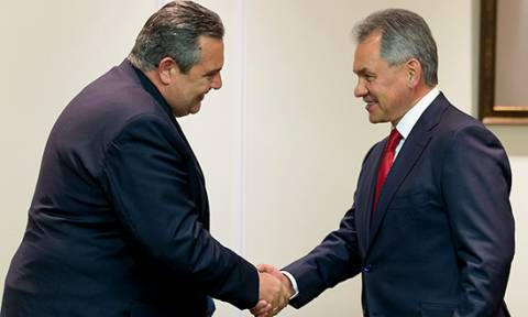 В Москве состоялись переговоры Паноса Камменоса и Сергея Шойгу