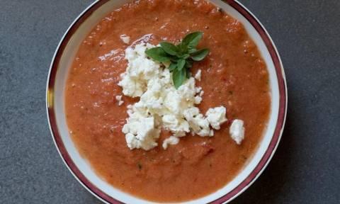 Η συνταγή της ημέρας: Σούπα Gazpacho