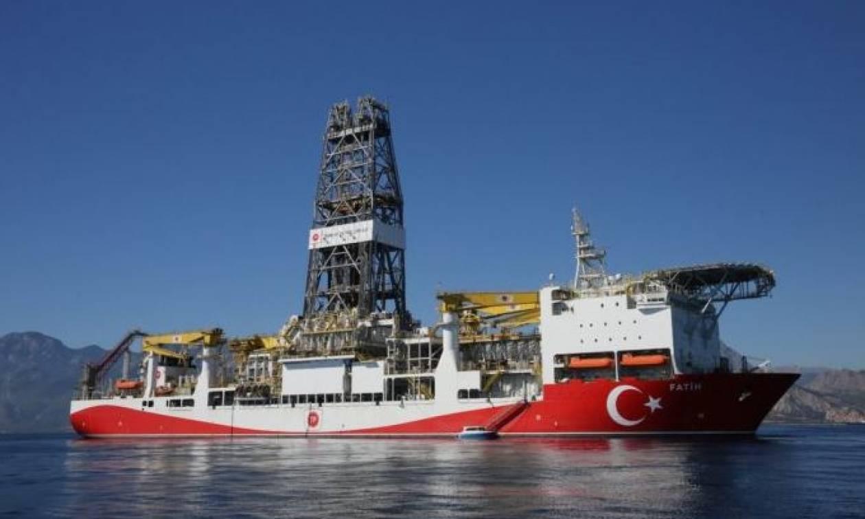 Ο τουρκικός «Πορθητής» ξεκινά σήμερα γεωτρήσεις στην ανατολική Μεσόγειο