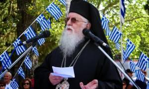 Μητροπολίτης Κονίτσης: Έγκλημα ο θάνατος του Κατσίφα – Να ενωθεί η Β. Ήπειρος με την Ελλάδα