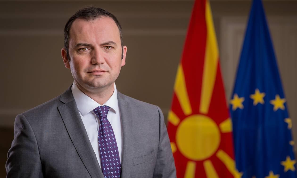 Αντιπρόεδρος Σκοπίων: Η Ελλάδα θα κυρώσει τη Συμφωνία των Πρεσπών παρά την πολιτική αντιπαράθεση