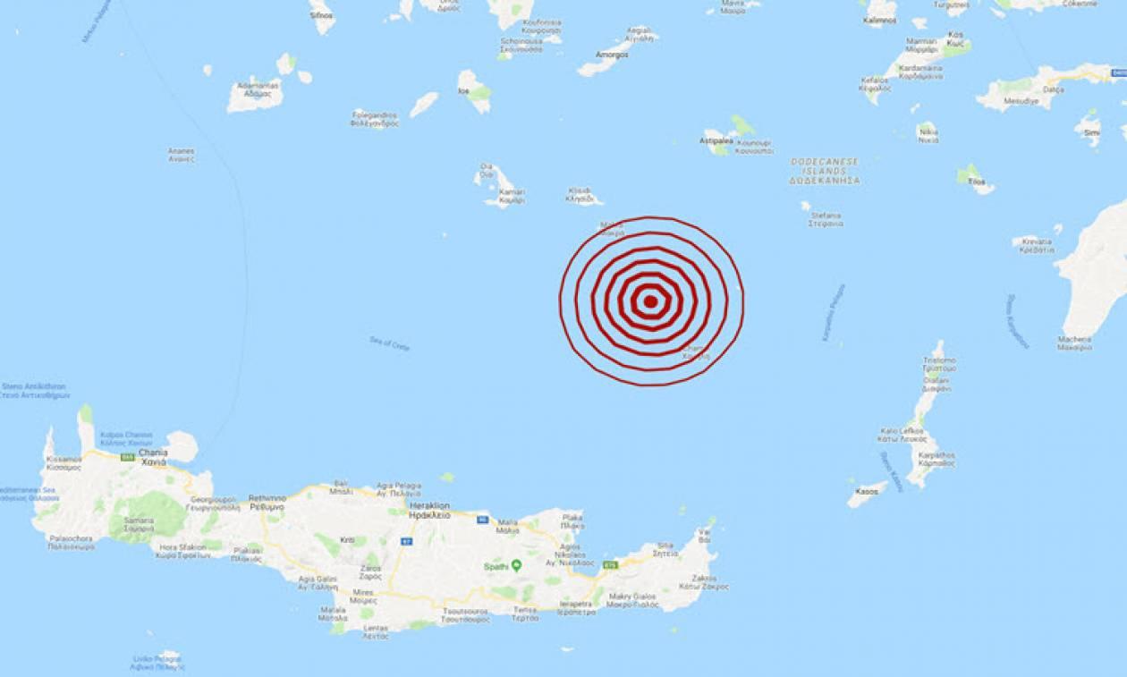 Σεισμός κοντά στην Ανάφη (pics)
