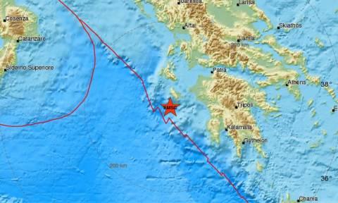 Σεισμός: Νέος ισχυρός μετασεισμός κοντά στη Ζάκυνθο (pics)