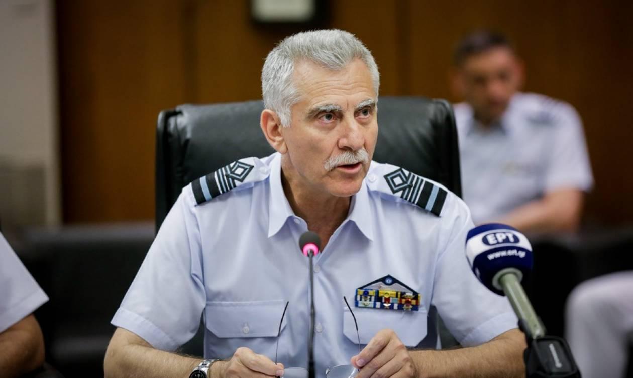 Αυστηρό μήνυμα του αρχηγού ΓΕΑ στην Άγκυρα: Πετάμε, μαχόμαστε, νικάμε