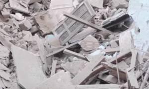 Γαλλία: Εφτά αγνοούμενοι από την κατάρρευση των δύο κτηρίων στη Μασσαλία (vid)