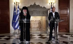 Διχάζει πολιτικούς και ιερείς η συμφωνία Τσίπρα – Ιερώνυμου