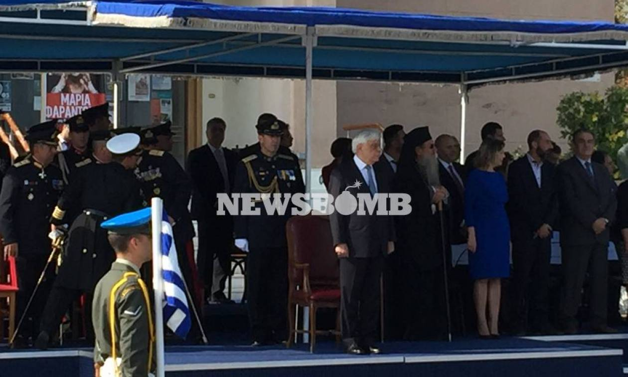 President Pavlopoulos on Mytilene for island's liberation anniversary