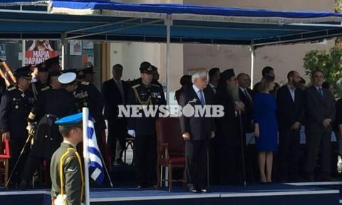 President Pavlopoulos on Mytilene for island's liberation anniversary