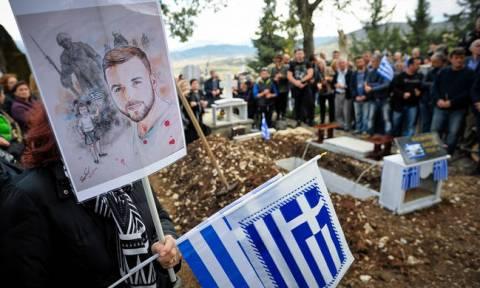 Funeral of Konstantinos Katsifas held in Albania