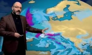 Καιρός: Πάμε ξανά σε λιακάδες, τι λέει ο Σάκης Αρναούτογλου για την επερχόμενη ψυχρή εισβολή (video)