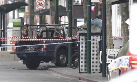 Melbourne attack: Man shot dead after fire and fatal stabbing
