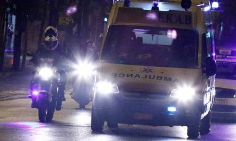 Van carrying migrants collides with truck: One dead, 20 injured