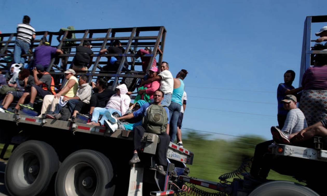 Μεξικό: Το δράμα των εκατοντάδων μεταναστών που συνεχίζουν την πορεία τρόμου προς τις ΗΠΑ
