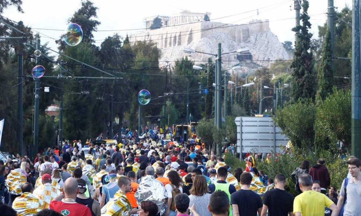 Μαραθώνιος 2018: Ποιοι δρόμοι θα είναι κλειστοί την Κυριακή στην Αθήνα