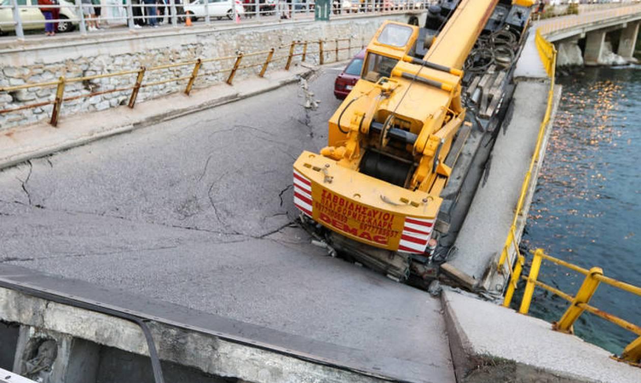 Κατάρρευση γέφυρας στην Καβάλα: Αυτοψία από την υφυπουργό Μακεδονίας - Θράκης