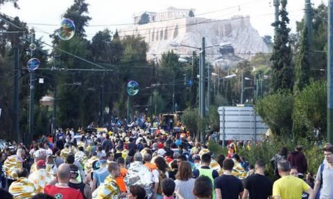 Завтра в связи с проведением 36-го Классического Марафона будет перекрыто движение в центре Афин