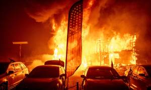 «Κόλαση» φωτιάς στην Καλιφόρνια: Τουλάχιστον 23 νεκροί - Δεκάδες αγνοούμενοι (pics+vids)