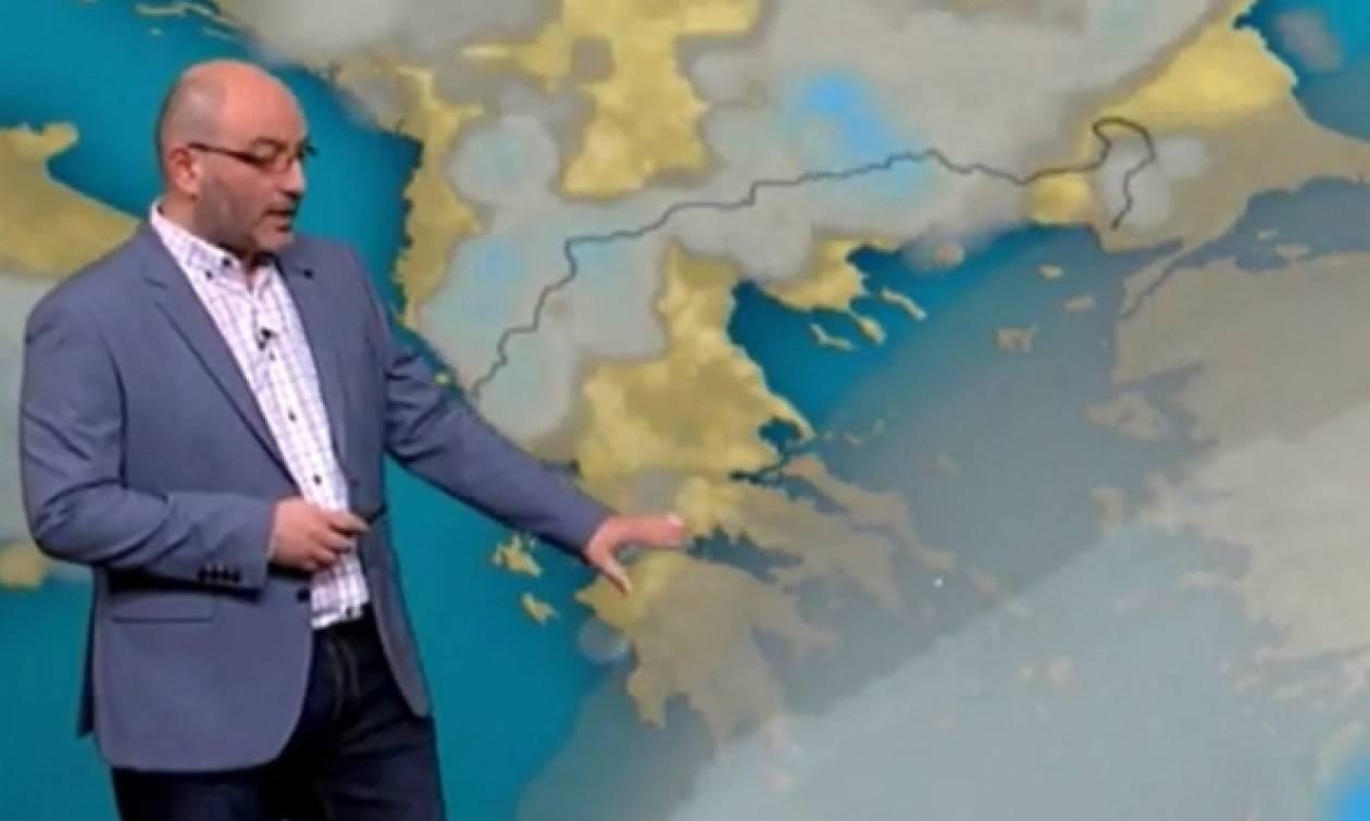 Καιρός: Ο Σάκης Αρναούτογλου προειδοποιεί: «Ερχεται κρύο με βροχές και χιόνια» (photo)