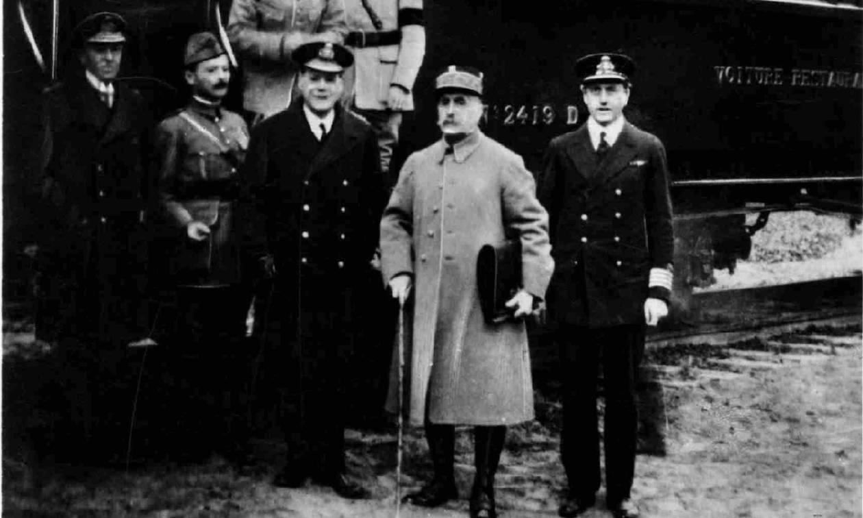 Σαν σήμερα το 1918 υπογράφεται η ανακωχή για την λήξη του Πρώτου Παγκοσμίου Πολέμου (pics+vid)