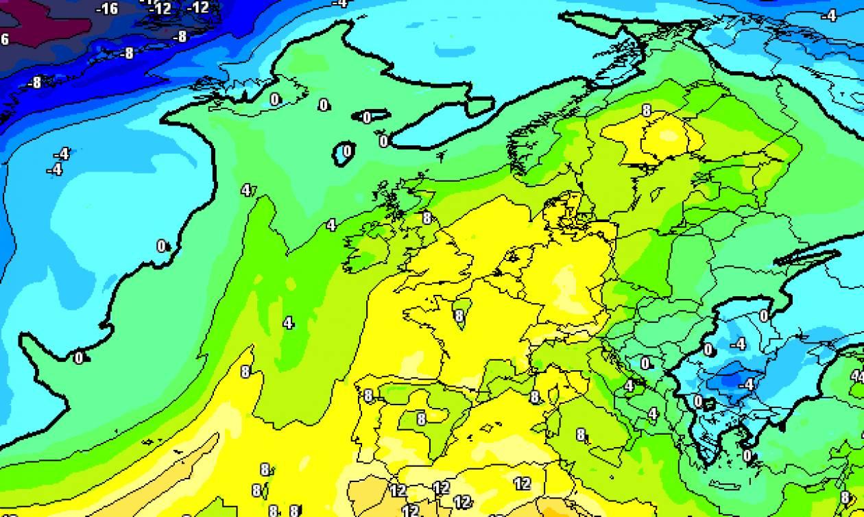 Καιρός: Χειμωνιάζει με πτώση θερμοκρασίας, χιόνια και βροχές (χάρτες)