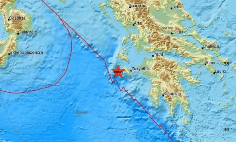 Σεισμός ΤΩΡΑ στη Ζάκυνθο - Αισθητός σε αρκετές περιοχές (pics)
