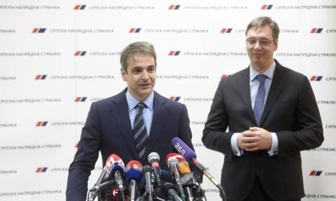 Διήμερη επίσημη επίσκεψη Μητσοτάκη στη Σερβία: Με ποιους θα συναντηθεί