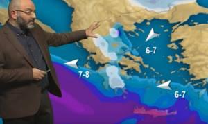 Η πτώση της θερμοκρασίας και τα πρώτα χιόνια που έρχονται! Τι λέει ο Σάκης Αρναούτογλου (video)