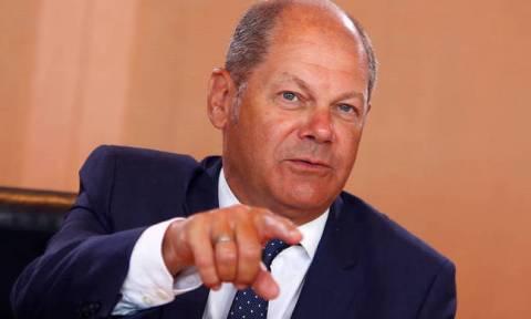 German Finance Minister Scholz on EU-Greece pension negotiations