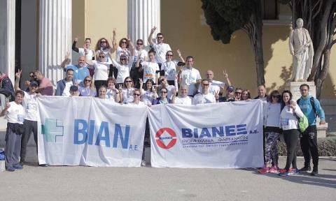 Στον 36ο Αυθεντικό Μαραθώνιο της Αθήνας έτρεξε η ομάδα της ΒΙΑΝΕΞ/ΒΙΑΝ (pics)