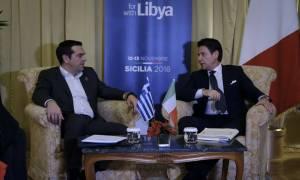 Συνάντηση Τσίπρα - Κόντε: Τι συζητήθηκε