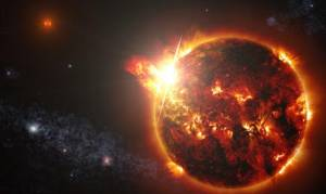 Πριν από την δευτέρα παρουσία του Χριστού, θα γίνουν σημεία στον ήλιο, στη σελήνη και στ' αστέρια