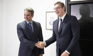 Συνάντηση Μητσοτάκη - Βούτσιτς στο Βελιγράδι: «Ψηλά» στην ατζέντα η ένταξη της Σερβίας στην ΕΕ