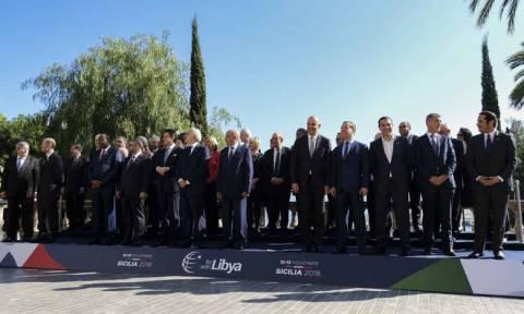 Διμερείς επαφές Τσίπρα με αλ Σίσι, Μεντβέντεφ και Κόντε στη Σικελία