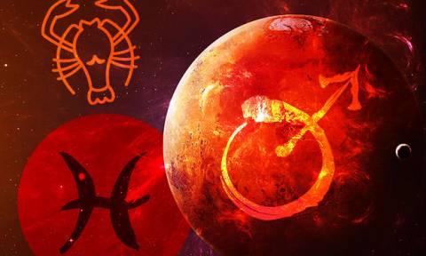 Άρης στους Ιχθύς: Πώς επηρεάζει το ζώδιο του Καρκίνου;