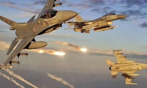 «Σουρωτήρι» ξανά το Αιγαίο: Μία εικονική αερομαχία και 21 παραβιάσεις