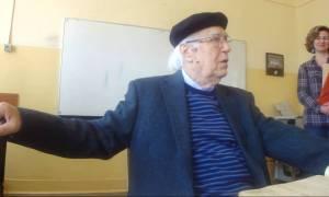 Θλίψη στον ακαδημαϊκό κόσμο: Σήμερα το «τελευταίο αντίο» στον καθηγητή Δημήτρη Λυπουρλή