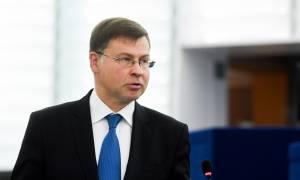 Καλά λόγια από τον Ντομπρόβσκις: Η Ελλάδα υπεραποδίδει στους δημοσιονομικούς στόχους