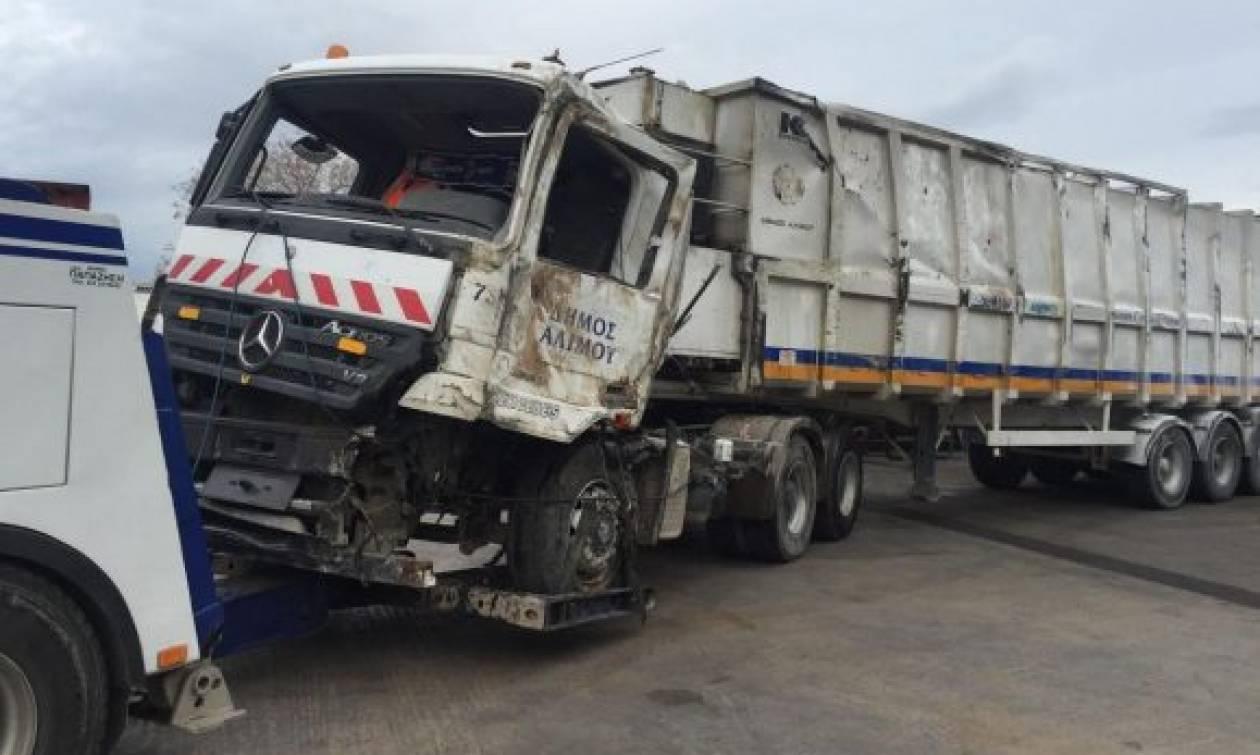 Αποτέλεσμα εικόνας για θάνατος οδηγού απορριμματοφόρου
