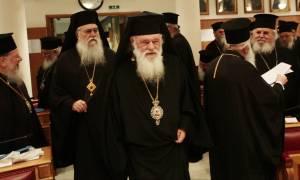 Ικανοποίηση Ιερώνυμου για την αντίδραση Τσίπρα στο «όχι» της Ιεράς Συνόδου