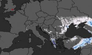 Καιρός: Δείτε πού θα χιονίσει το τριήμερο και πόσα εκατοστά θα στρώσει (video)