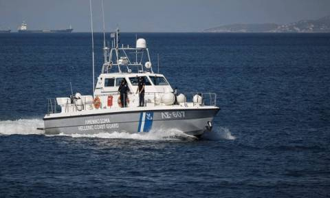 Ship carrying suspect cargo sinks in seas off Crete after coast guard orders inspection
